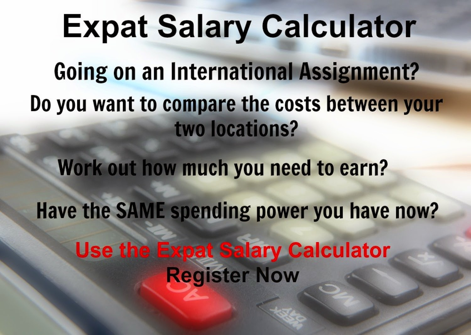 Expat Salary Calculator