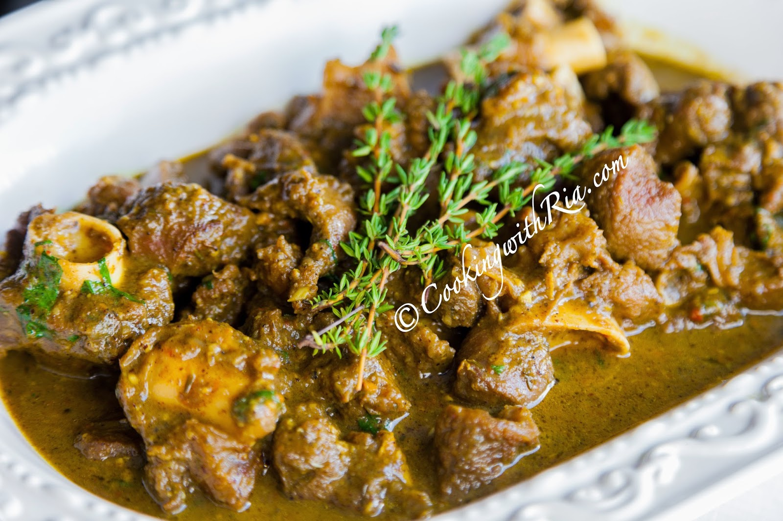 ria s trinidadian curried goat serves 4 6 2 pounds goat meat cut into ...