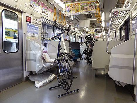 九十九里トライアスロン2014 団体専用臨時列車 209系