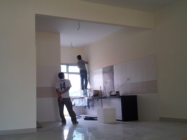 Progress Rumah : Minggu ke-2 April