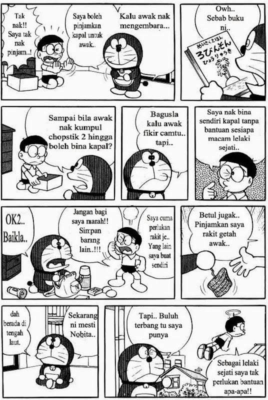 Komik Doraemon, nobita, sizuka, doraemon