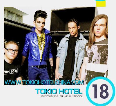 Tokio Hotel scans: InRock nº 332 (Japan) Scaan