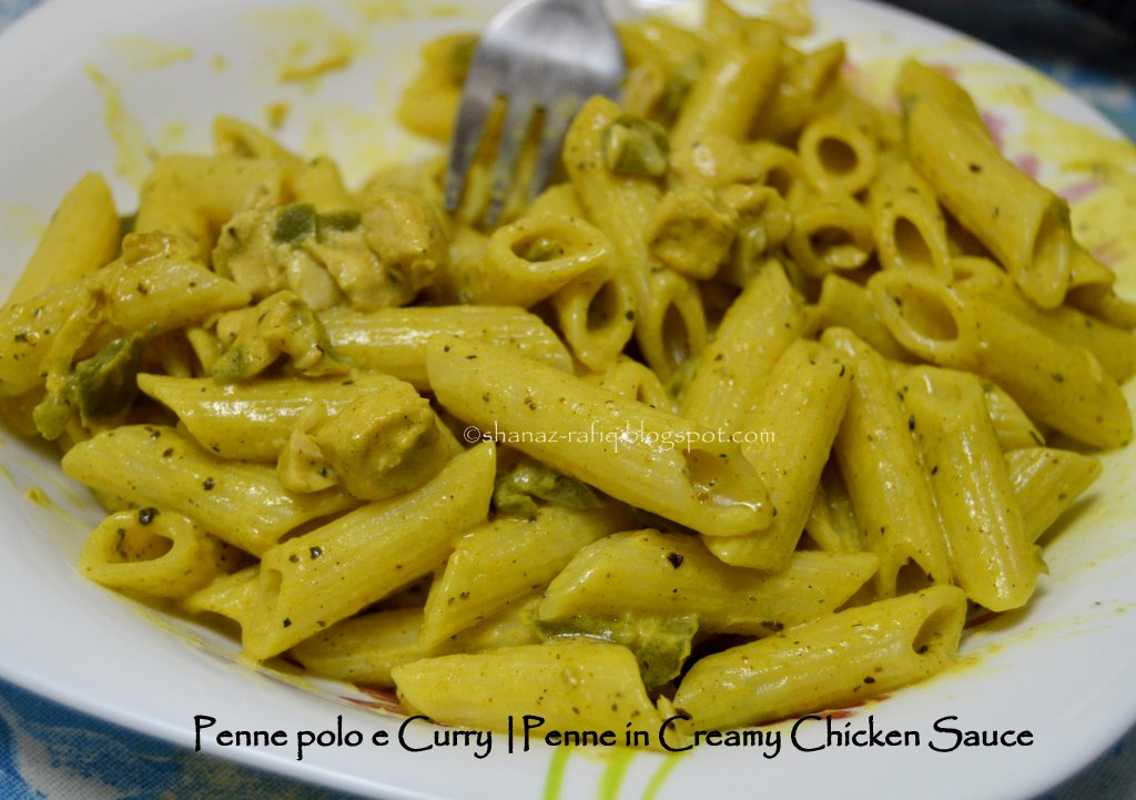 Curry and pasta recipes