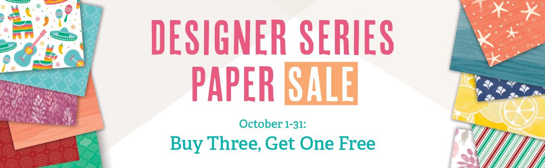 October Designer Series Special!