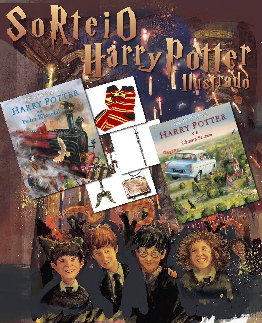 Sorteio Harry Potter!