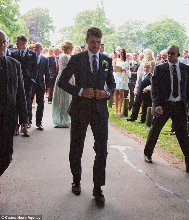Colleen Rowlands  & Aaron Ramsey Wedding