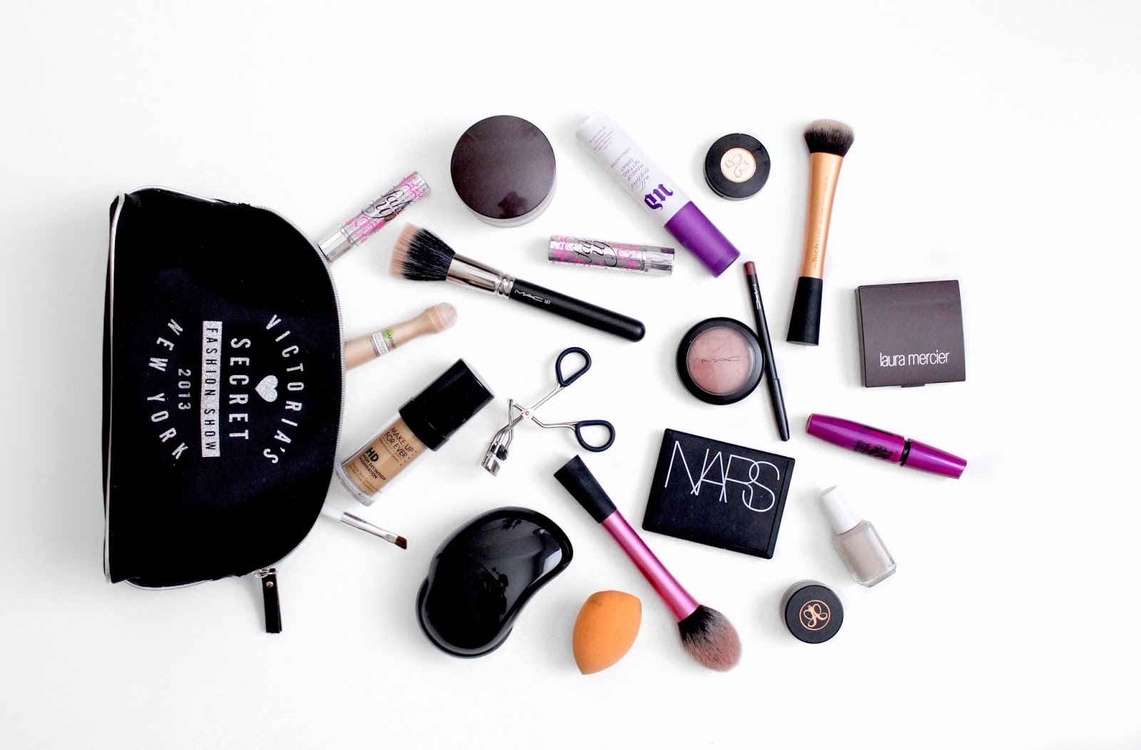 What's in My Makeup Bag, by Laura Whitmore