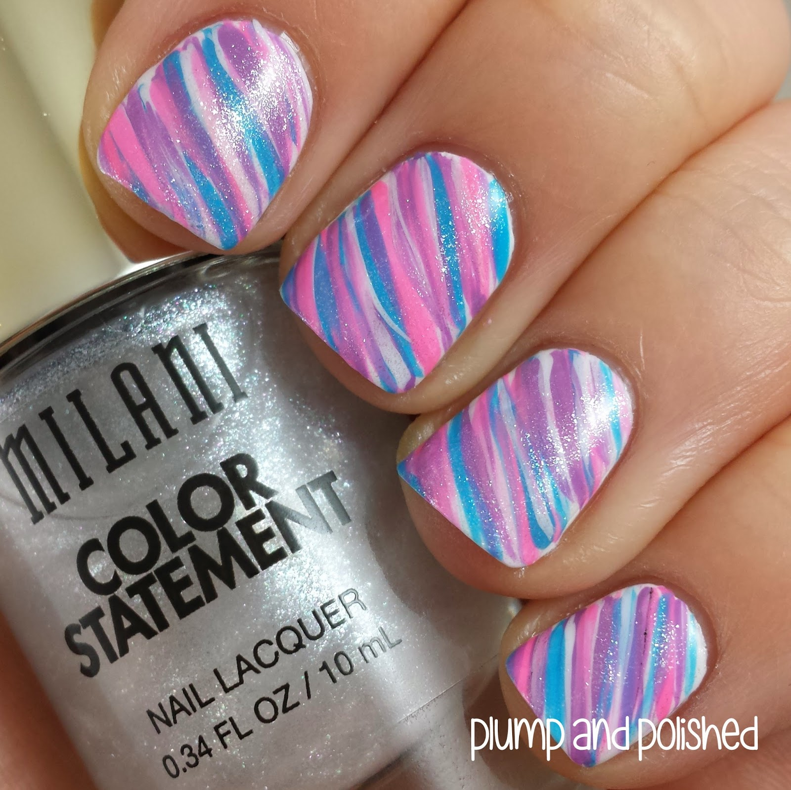 Cotton Candy Nail Polish Color: Plump And Polished: Milani Color Statement