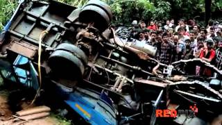 Kerala bus accident Latest video — Red Pix