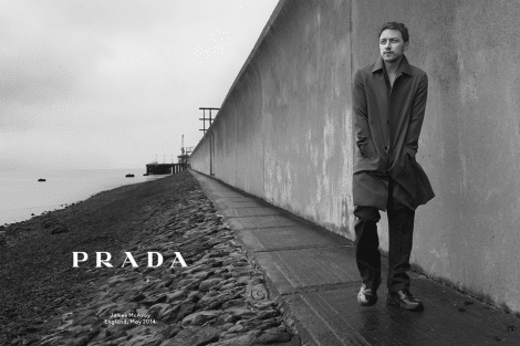 James McAvoy by Annie Leibovitz for Prada