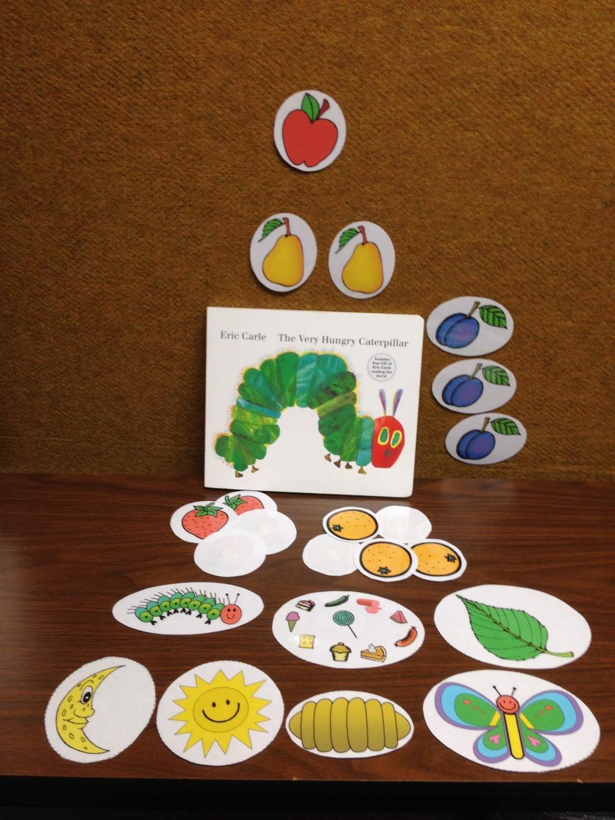 Our clinic creations very hungry caterpillar free for Very hungry caterpillar templates free