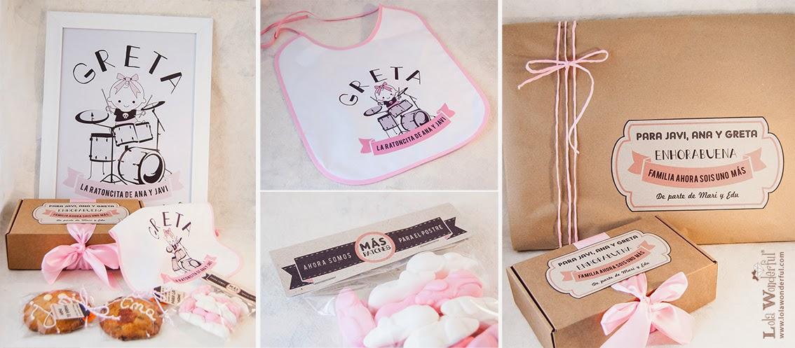 Lola wonderful regalos personalizados y dise o para for Vajilla bebe personalizada
