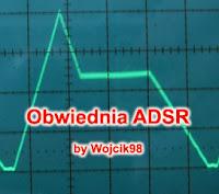 Generowanie obwiedni ADSR mikrokontroler ATmega644p by Wojcik98.