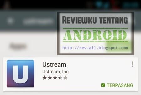 Ikon aplikasi USTREAM - untuk melihat streaming dan melakukan streaming di android (rev-all.blogspot.com)