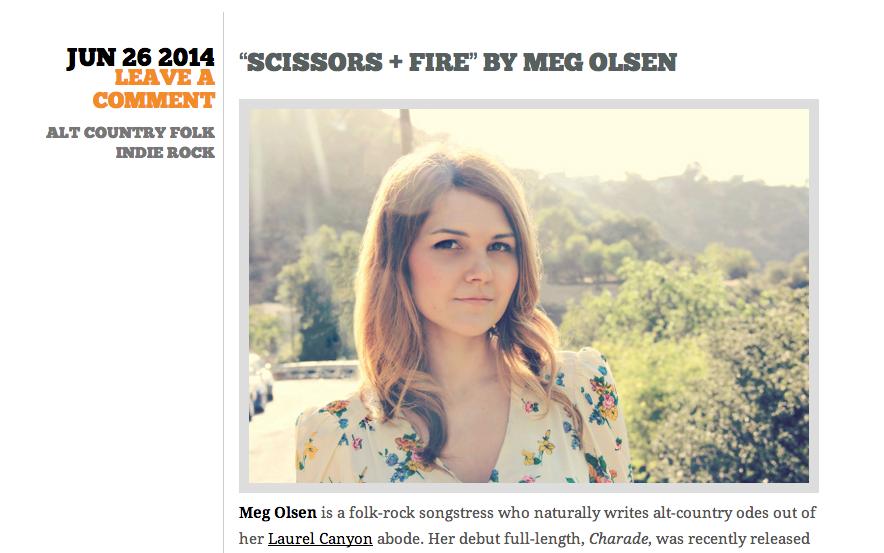 Meg Olsen Charade