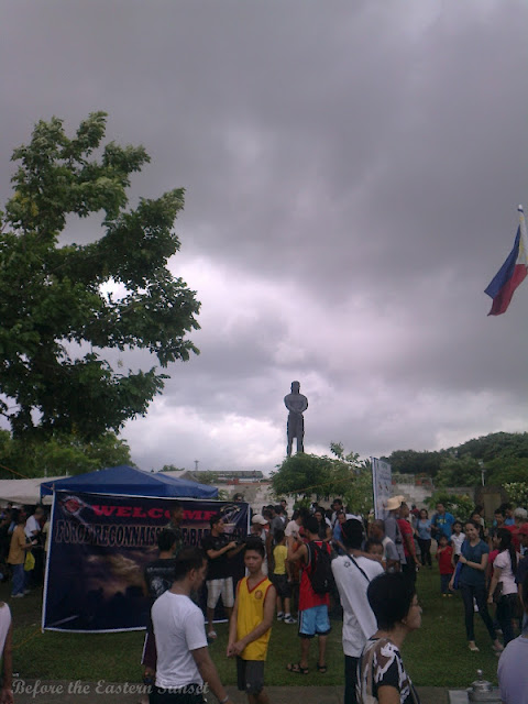 Crowd at Luneta Park