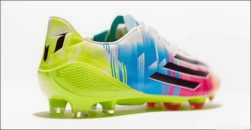 Newest adidas F50 adizero Lionel Messi with colorful