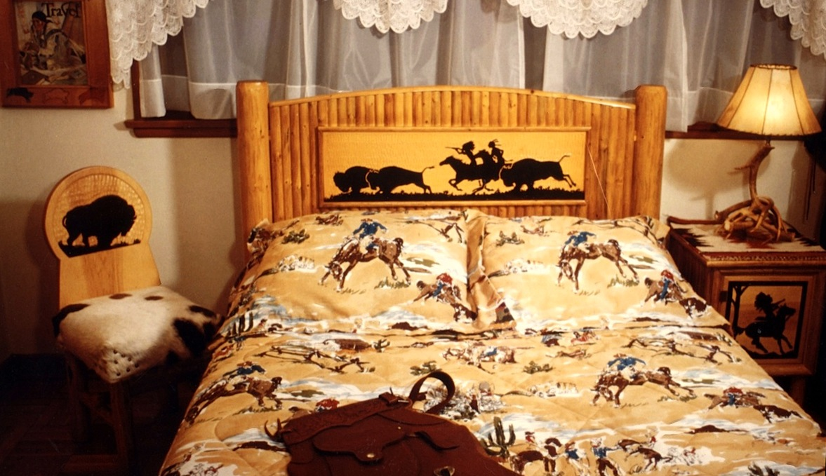a drifting cowboy cowboy chic headboards make a good