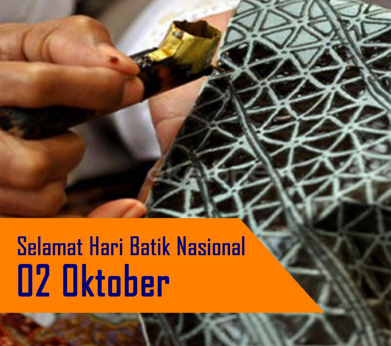 2 Oktober, Hari Batik Nasional