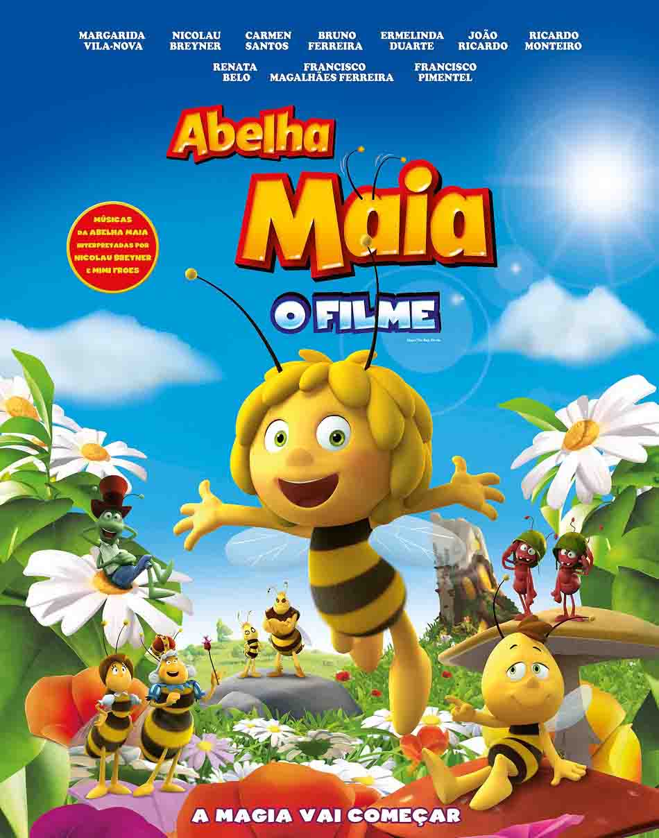A Abelha Maya: O Filme 3D Torrent - BluRay 1080p Dual Áudio (2016)