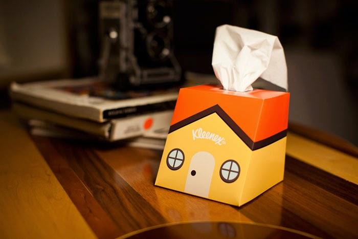chris yoon kleenex ciekawe gadżety do domu dom cottage