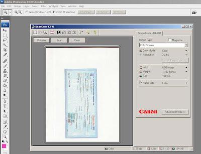 gambar scanner CanoScan D646u ex
