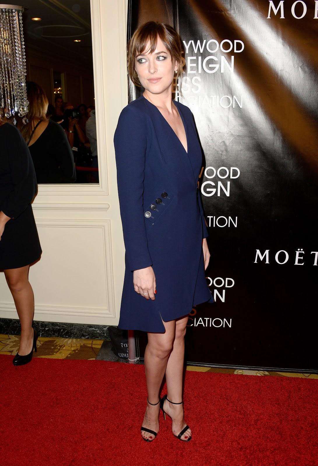Amazing Full HD Images of Dakota Johnson HFPA Annual Grants Banquet