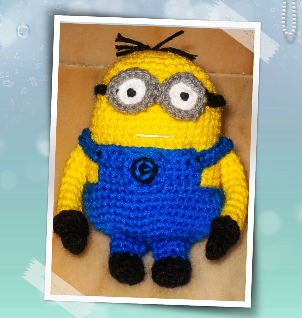 Amigurumi Free Patterns Minions : Despicable Me Minion Amigurumi no.2 ~ Snacksies Handicraft ...