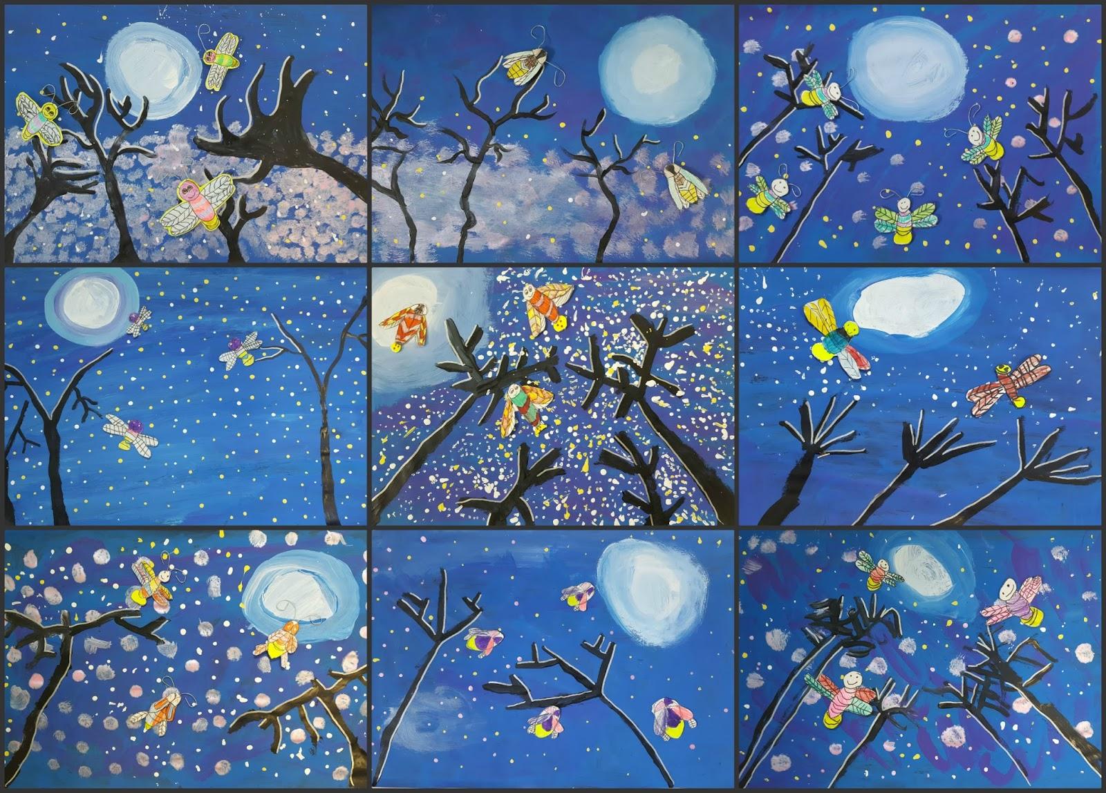Moonlit Fireflies Marymaking