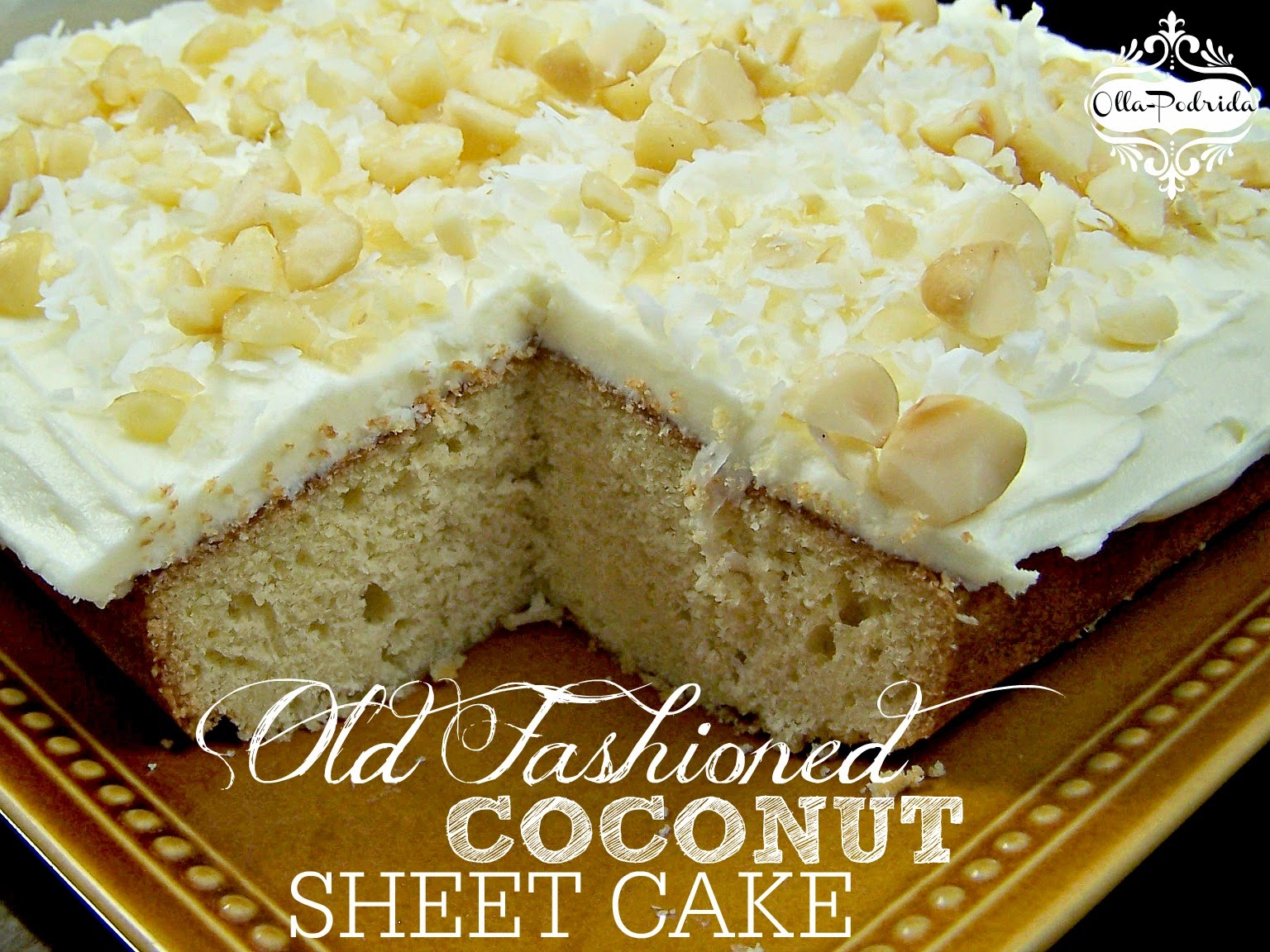 Recipe for old fashioned coconut cake 48