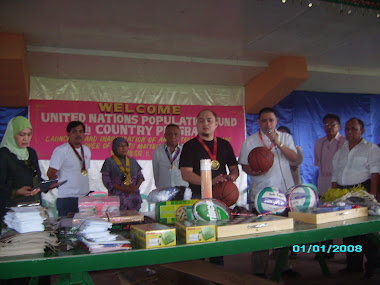 Mayor Marmar leads turn over of sports equipments at AMPSC Teen Center