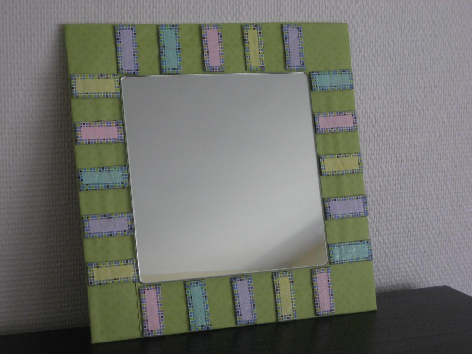 marco hecho con caja de cartn recycled frame cadre recycl