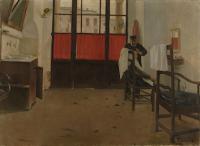 SANTIAGO RUSIÑOL  El Barberillo de Puigcerdà 1890