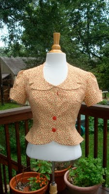 Yellow Tomato Blouse