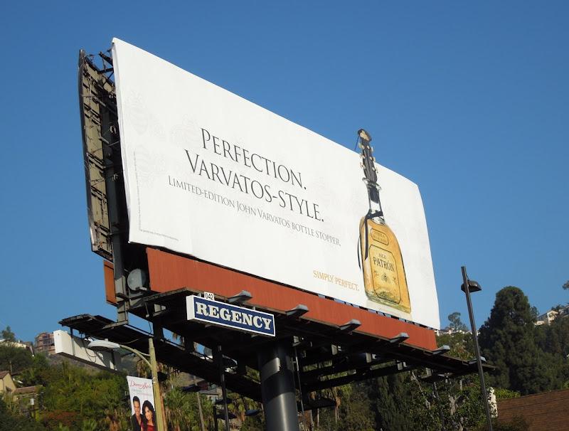 Patron Tequila John Varvatos billboard