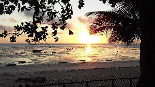 Amanecer playa Jambiani, Zanzibar