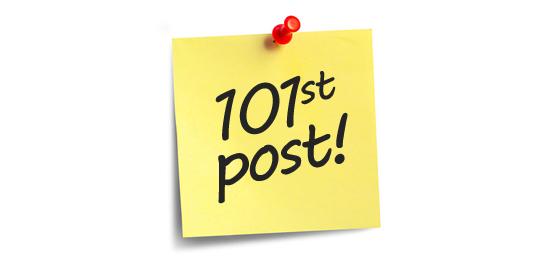 101st post