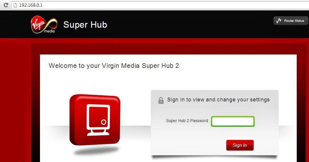 Internet access virgin media