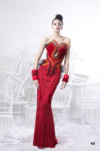 short prom dresses: Nicolas Jebran 2012 Spring Haute Couture Collection