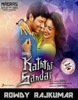 Kaththi Sandai 2016 Hindi Dubbed Movie UnCut HDRip 720p hevc