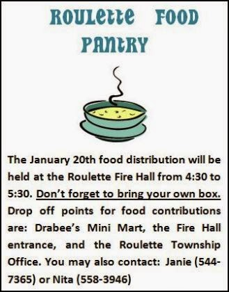 1-20 Roulette Food Pantry