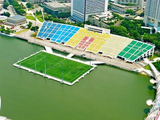 Podium Apung Marina Bay - Stadion Terunik Di Dunia