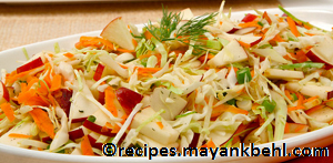 apple-cabbage-coleslaw recipe
