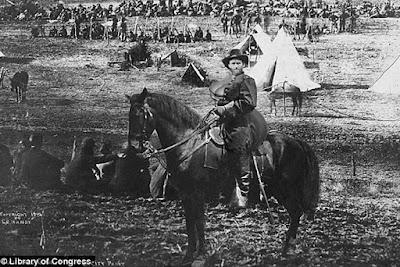 President Ulysses Grant battlefield photoshop