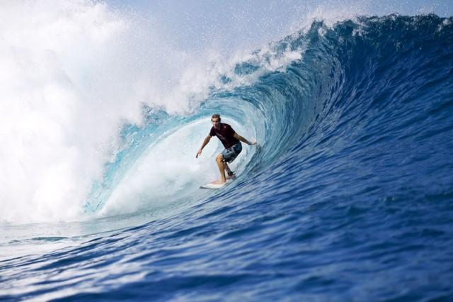 Ross Lynch Surfing
