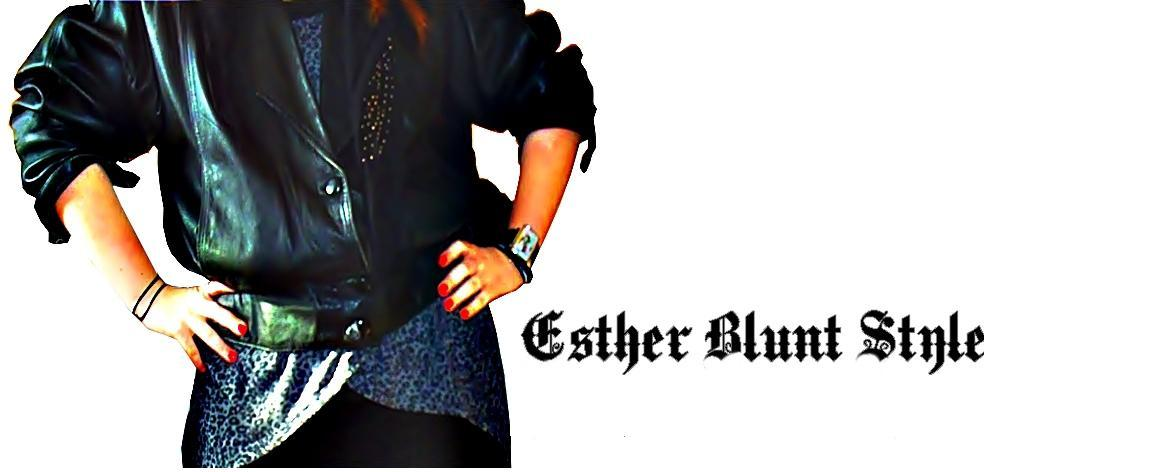 Esther Blunt Style