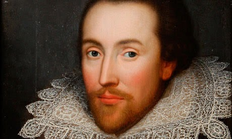 El famoso escritor inglés Shakespeare