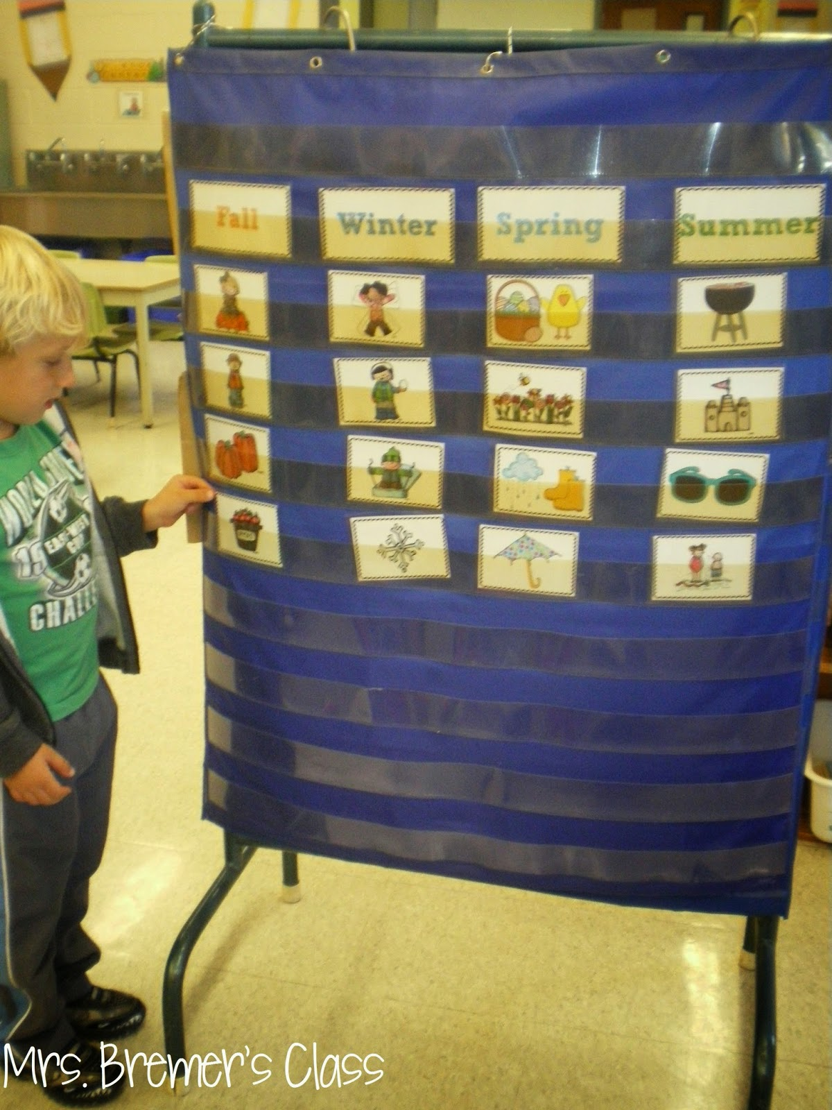 Season Sort activity