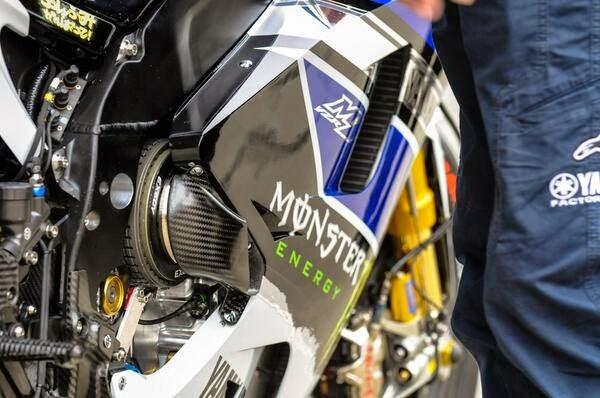Gambar motor YZR-M1 musim 2015 terbaru