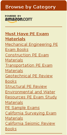NCEES exam prep materials